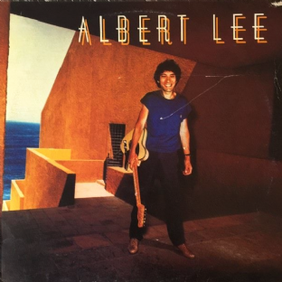 Albert Lee ‎- Albert Lee (LP) (VG-/G)